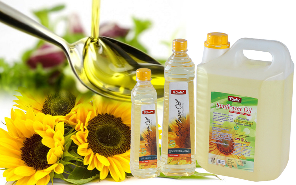 Richy Sunflower Oil, Sunflower Oil Producer in Sri Lanka