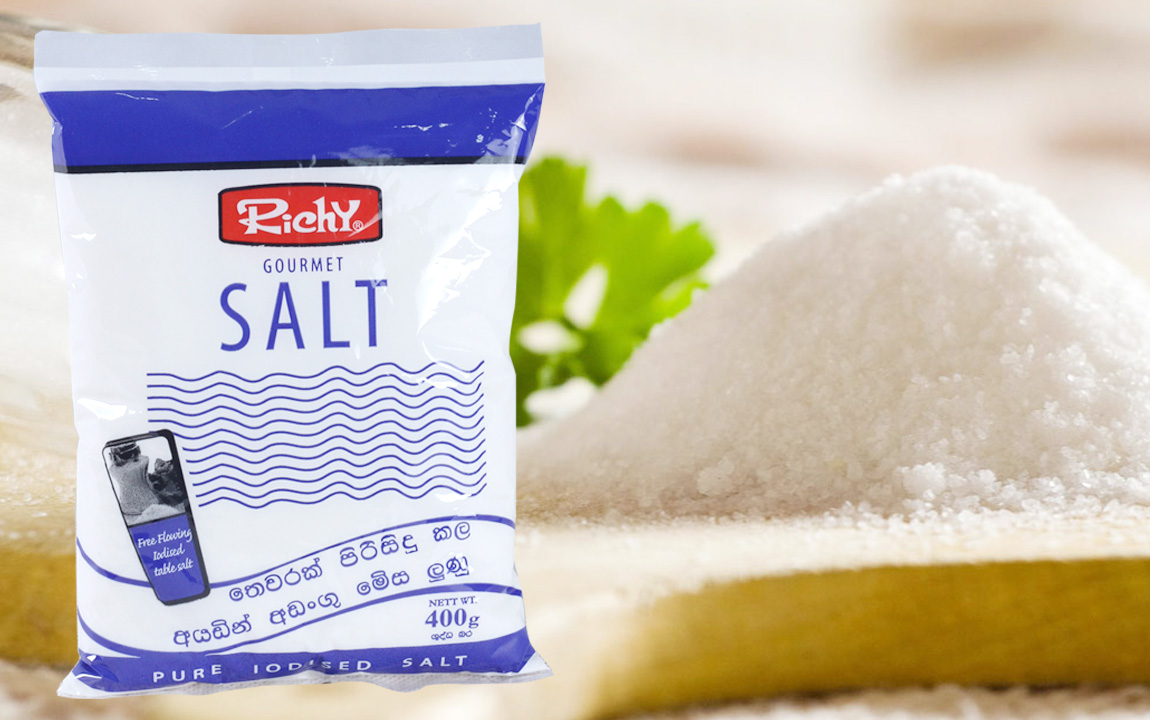 Richy Tabel Salt, Iodised Table Salt Sri Lanka