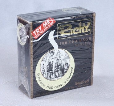 Richy Black Tea - Tea Bags 100